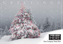 Winter Wanderings Holiday Logo Cards